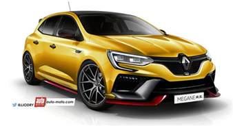 Renault Sport Megane Rs Renault M 233 Gane 4 Rs 2017 Photos Infos Et Prix
