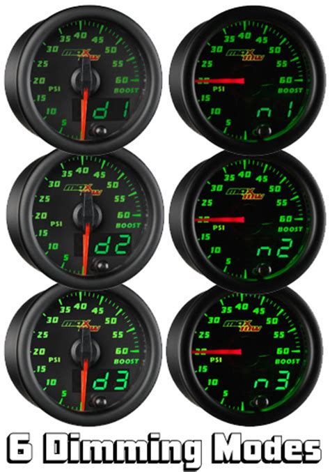 1994 1999 chevy truck oil pressure gauge malfunction youtube gauge feature spotlight 6 levels of maxtow dimming maxtow performance llc