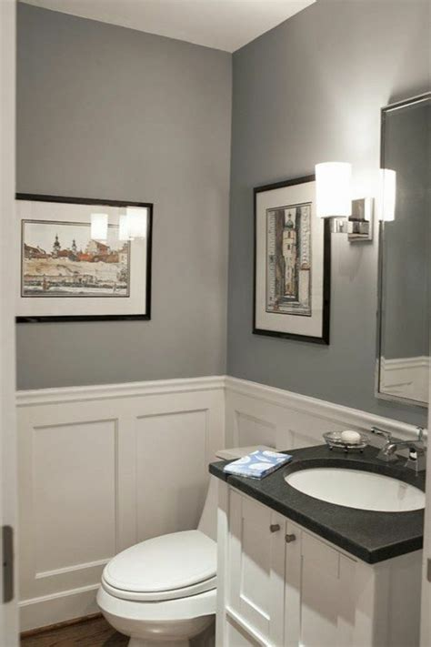 small bathroom wall color ideas wall color gray the perfect background color in every