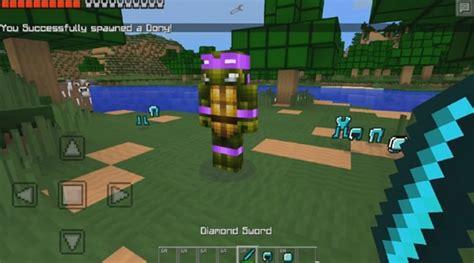 mod game ninja minecraft pe 0 9 5 mod super ninja turtles