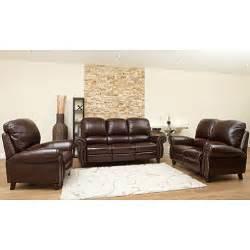 Sams Club Leather Sofa Top Grain Leather Sofa Loveseat And Armchair Set Sam S Club