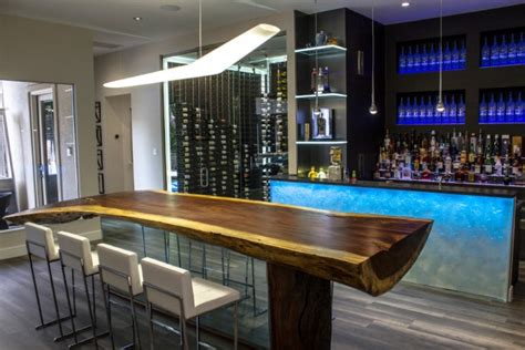 High Top Dining Room Table by 15 High End Modern Home Bar Designs For Your New Home