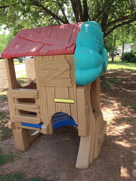 fisher price backyard treehouse find more fisher price treehouse playhouse for sale at up to 90 mcdonough ga