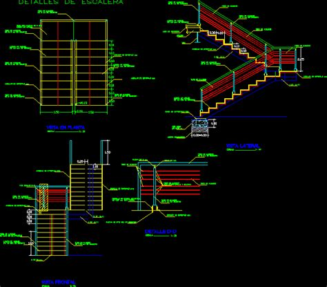 stair section detail dwg stair project dwg full project for autocad designs cad