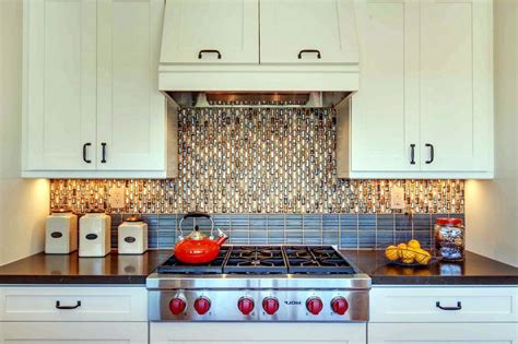 backsplash in kitchen ideas inexpensive kitchen backsplash ideas modern kitchen 2017