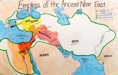 map of ancient near east ancient near eastern empires maps 2013 2014 mrcaseyhistory
