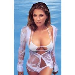 daisy fuentes posing in a wearing a wet blouse polyvore