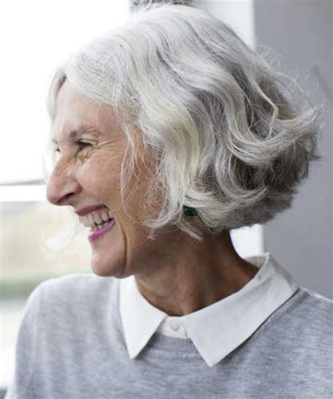 hair styles for older woman with thick wavy hair 60 elegant gray hair styles ideas beautiful nature
