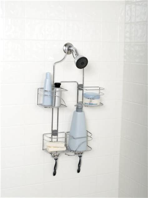 zenith products 7446ss expandable shower caddy for