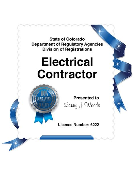 electrician certifications how it affects your