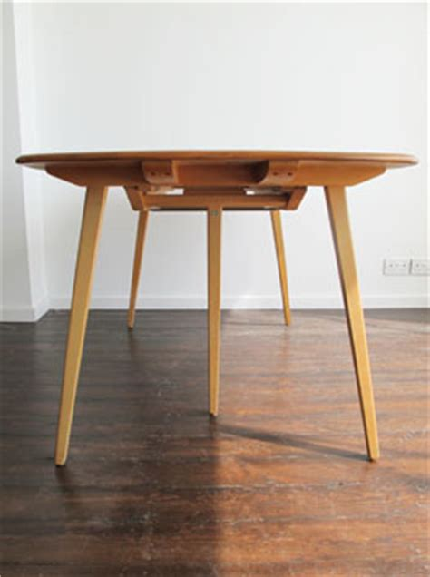elm beech extending dining table by ercol