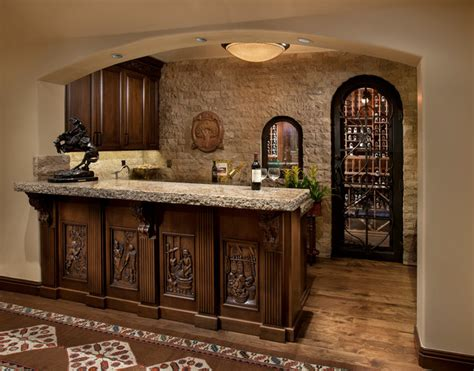 Mediterranean Home Decor Accents paradise valley home 1 mediterranean home bar