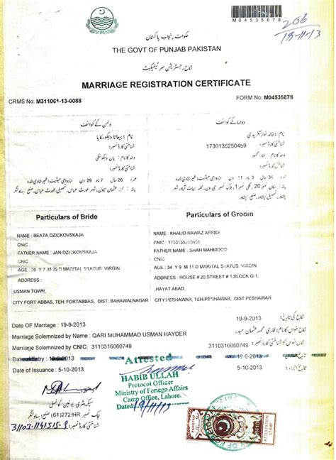 Divorce Letter Pakistan Nikah Certificate Template Best Free Home Design Idea Inspiration