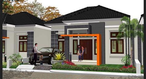 contoh desain rumah minimalis sederhana 1 lantai 4 kamar tidur desainrumahid