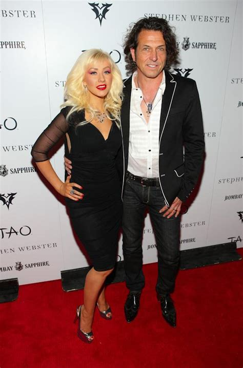 Fab Ad Aguilera For Stephen Webster by Aguilera With Designer Stephen Webster At Tao