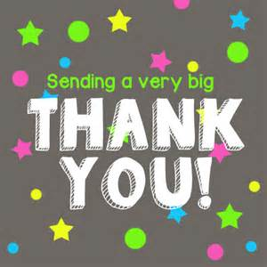 sending a very big thank you free for everyone ecards