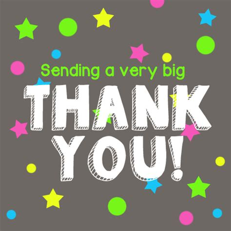 Send A Thank You Card By Email sending a big thank you free for everyone ecards