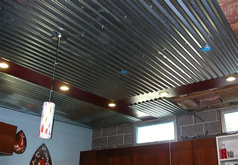 Metal Garage Ceiling by The Library House Project October 04