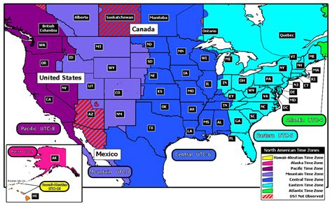us map time zone lines locate us standard time zones on government map of all 50