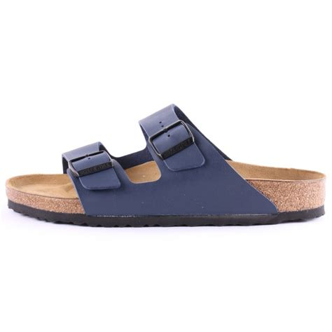 navy mens sandals birkenstock arizona mens sandals in navy