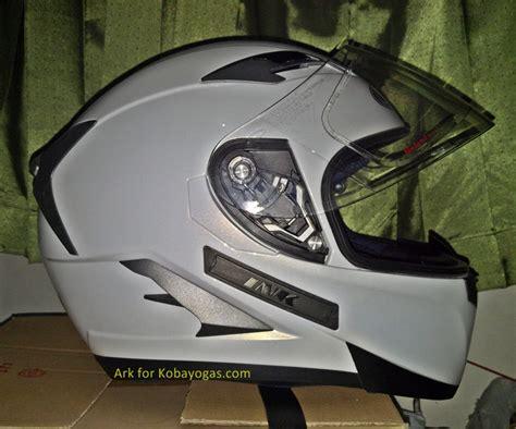 Helm Kyt Putih Polos sahabat review helm ink duke produk terbaru helmet dari ink kobayogas