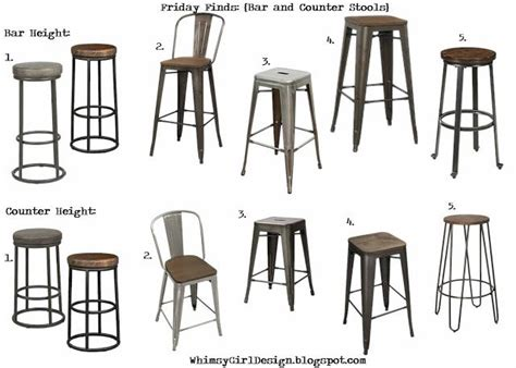 Magnolia Farms Bar Stools by Whimsy Friday Finds Bar And Counter Stools
