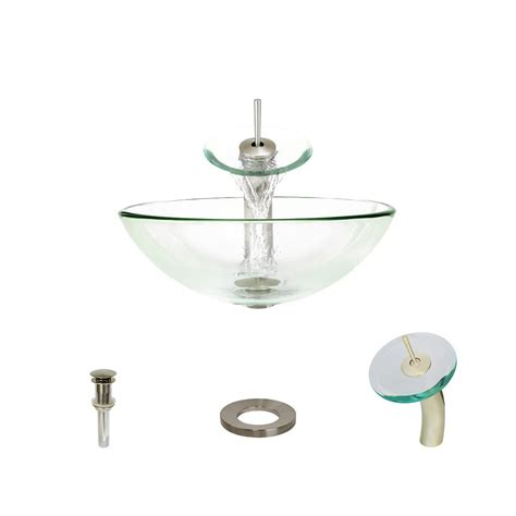 mr direct vessel mr direct glass vessel sink in turquoise with 721 faucet