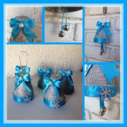 Christmas Ornament Favors Campanas Navide 241 As Con Botellas De Plastico O Pet Decorada Con Purpurina Cintas Y Goma Eva