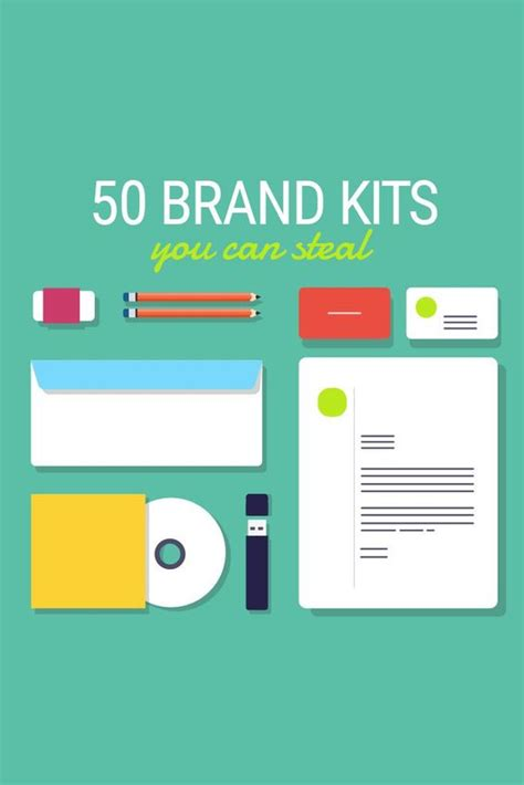 50 Free Branding Templates For Your Business Medium Posts And Startups Branding Kit Template