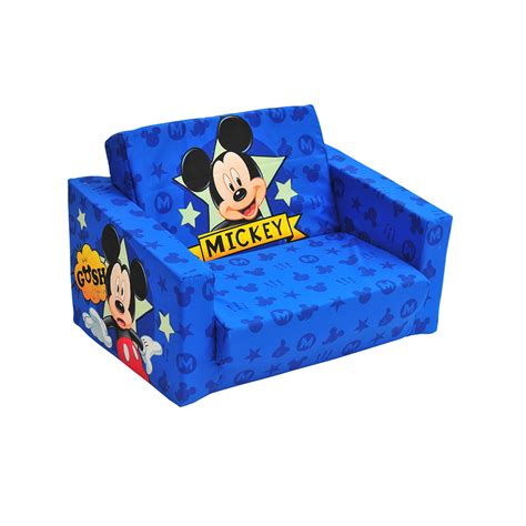 mickey mouse clubhouse flip open sofa with slumber mickey mouse clubhouse flip open sofa sleeper home