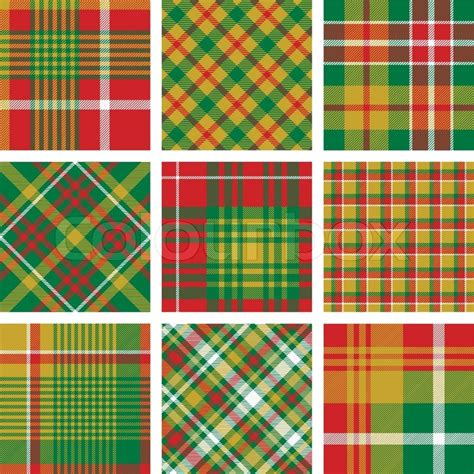 vector plaid pattern free christmas plaid patterns stock vector colourbox