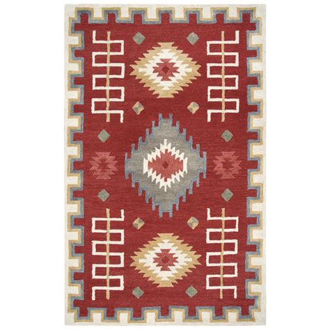 10 X 13 Multicolor Area Rugs - rizzy home mesa multicolor southwestern 10 ft x 13 ft