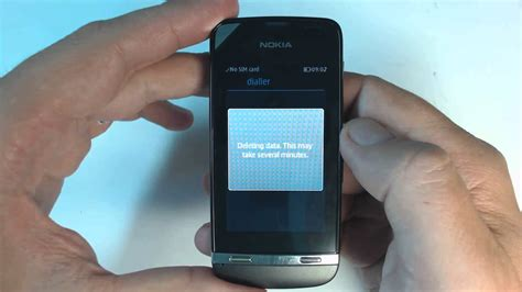 format factory z2 nokia asha 311 factory reset youtube