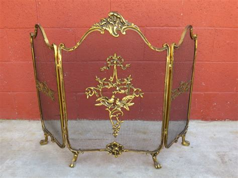 awesome antique fireplace screens 5 antique bronze