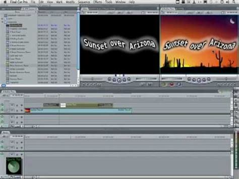 tutorial final cut pro 7 pdf final cut pro 7 tutorial master template secrets youtube