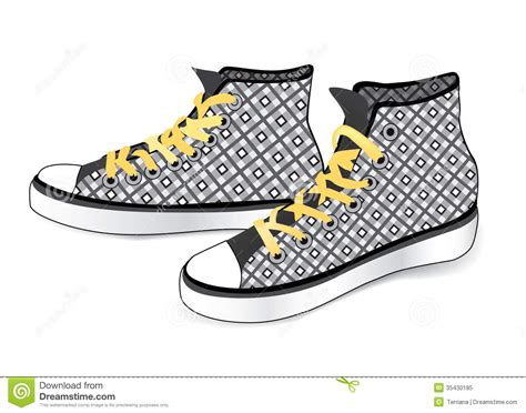 sneaker stock illustration of sneaker sports shoes royalty free stock