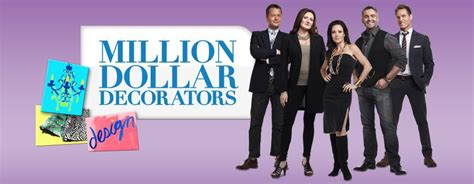 designer tv shows million dollar decorators american reality television