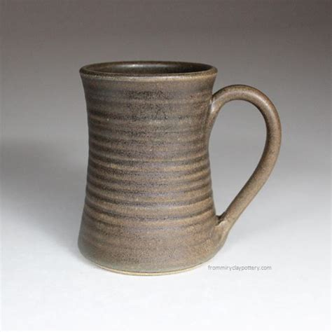 unique shaped coffee mugs handmade pottery mugs from miry clay pottery