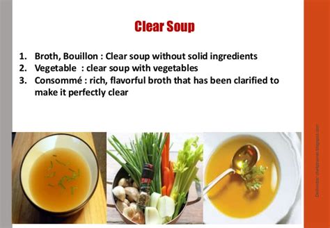 types of vegetable soups types of soup