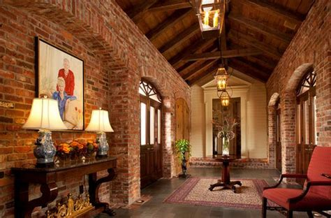banquet hall designs layout brick and stone house plans incorporating exposed bricks in stylish designs around the