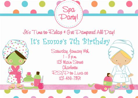 printable party decorations birthday free printable spa birthday party invitations pool
