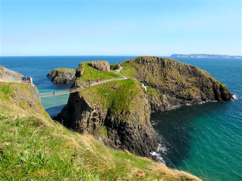 swinging sites ireland it s hard to fish in paradise carrick a rede rope bridge