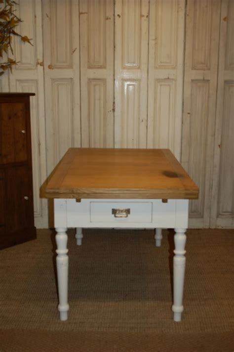 Kitchen Table Drawing Antique Pine Extending Dining Kitchen Table Draw Leaf