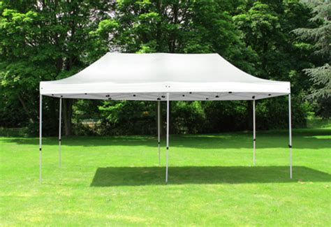 foldable gazebo standard 3m x 6m foldable pop up gazebo white 163 189 99