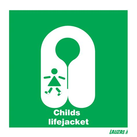 Imo Sign Jacket lalizas imo signs child s lifejacket