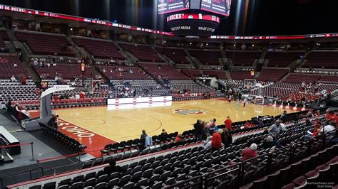 Section 4 Basketball Schedule by Schottenstein Center Section 127 Ohio State Basketball Rateyourseats