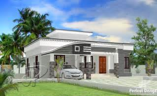 Home Designe by 1129 Sq Ft Modern Single Floor Home Kerala Home Design