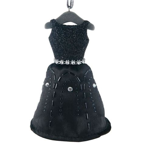dress ornaments 2016 black dress signature hallmark ornament