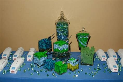 Candy Buffets That Are Affordable Your Perfect Day S Green And Blue Buffet