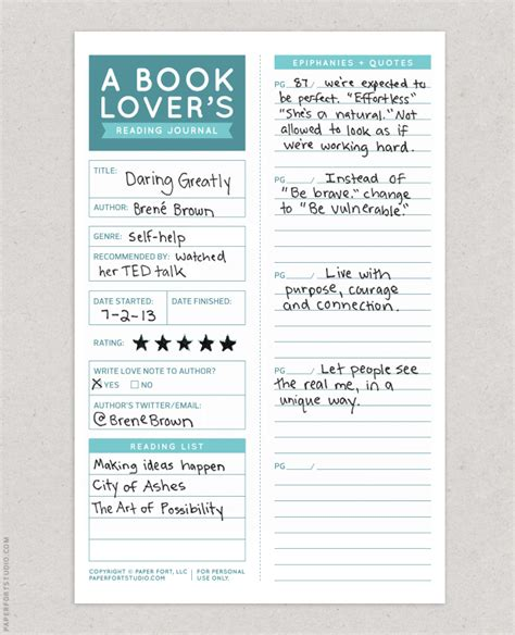 a journal of from the of a books a book lover s reading journal happy muses